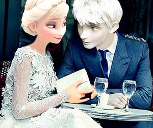 love, couple, and elsa image