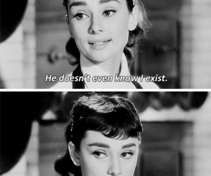 quotes, audrey hepburn, and love image