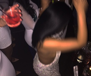 drink, dress, and party image