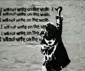 BANKSY, street art, and quotes image