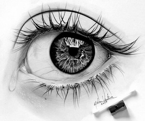 amor, black, and black&white image