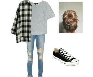 chucks, clothes, and outfit image