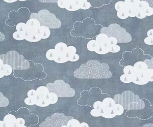 wallpaper, clouds, and pattern image