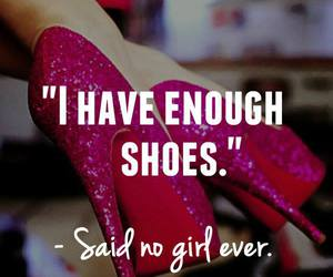 shoes, girl, and quote image