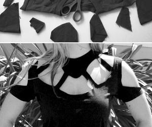 diy, black, and t-shirt image