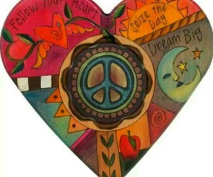 cool, peace, and heart image