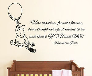 wall decals, winnie the pooh, and kids room decor image