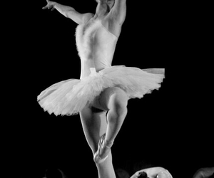 black, classic, and dance image