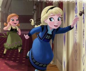 disney princess, frozen, and little princess image