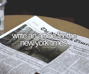 article, goals, and new york image