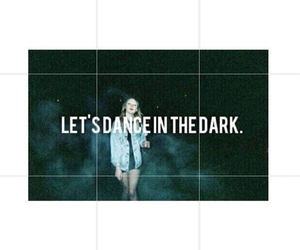 dark, dance, and girl image
