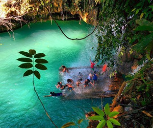 nature, paradise, and Philippines image