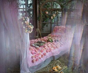 fairy tale, fantasy, and flowers image