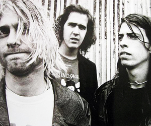 nirvana, kurt cobain, and music image