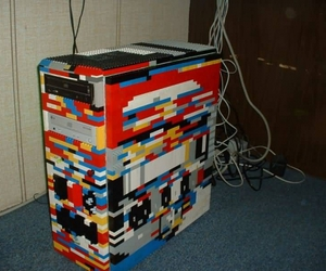 computer, lego, and pc image