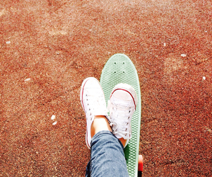 board, penny, and skate image