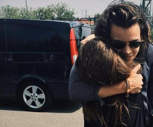 Harry Styles, hug, and one direction image