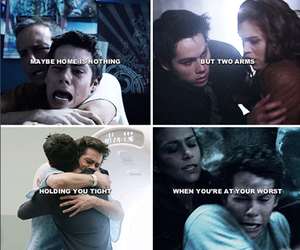 alisson, teen wolf, and love image