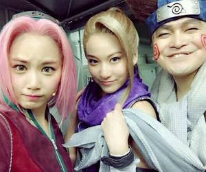 ino, naruto, and sakura image