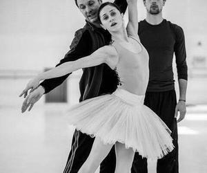 ballet, elegancia, and teacher de ballet image