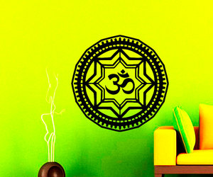 home decor, mandala, and sticker image