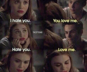 teen wolf, love, and stydia image