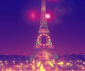 background, city, and france image