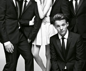 louis, one direction, and niall image