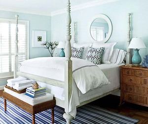 bedroom, bedroom decor, and guest bedroom image
