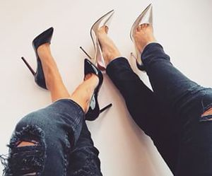 fashion, heels, and shoes image