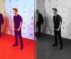 cutie, bieber, and justin image