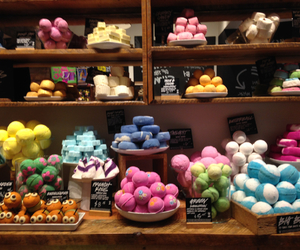 lush, soap, and smells good image