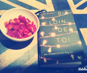 book, dreams, and food image