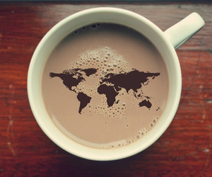 coffee, world, and travel image