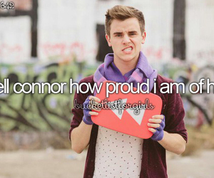 connor franta, youtube, and love image