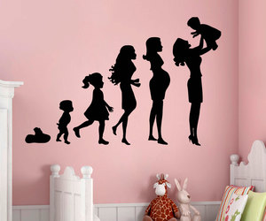 home decor, wall decals, and kids room decor image
