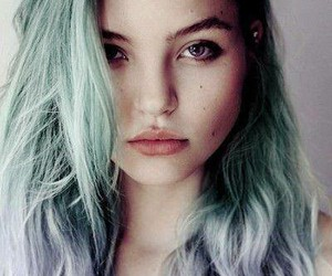 blue, hair, and eyes image