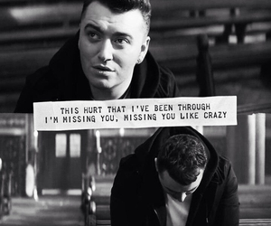 sam smith, lay me down, and Lyrics image