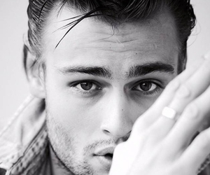 douglas booth and black and white image