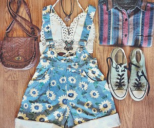 girl, outfit, and shoes image