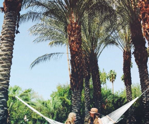 summer, friends, and hammock image