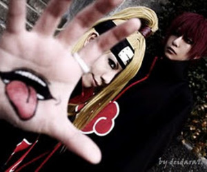 cosplay, deidara, and sasori image