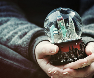 new york, new york city, and hands image