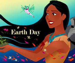 disney, earth day, and pocahontas image