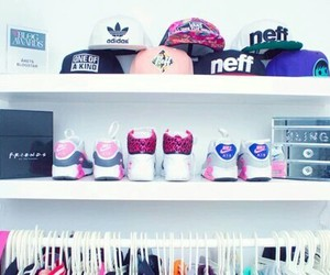nike, adidas, and clothes image