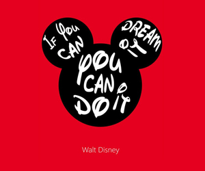 disney, quote, and mickey mouse image