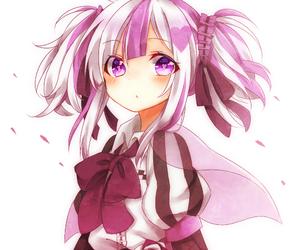 anime girl, dress, and lovely image