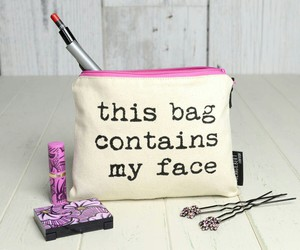 bag, face, and funny image