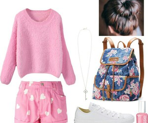 comfy, outfits, and pink image