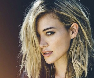 hair, Hilary Duff, and blonde image